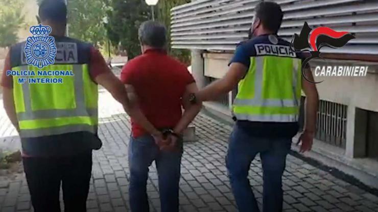Cae en Madrid el máximo responsable de la Ndrangueta calabresa