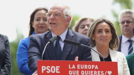 Borrell busca una Europa socialista, 'justa, abierta al mundo, tolerante y cohesionada'