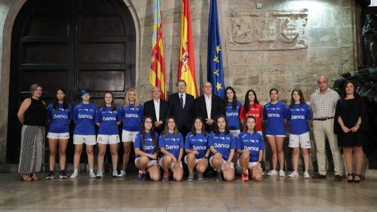 La pilota, el deporte valenciano por excelencia, refuerza la presencia femenina