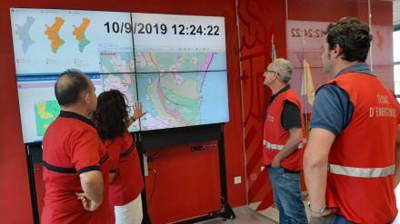 Emergencias recomienda extremar la precaución ante la llegada de un temporal a la Comunitat Valenciana