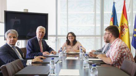 Oltra elogia la futura Ley de accesibilidad universal de la Generalitat