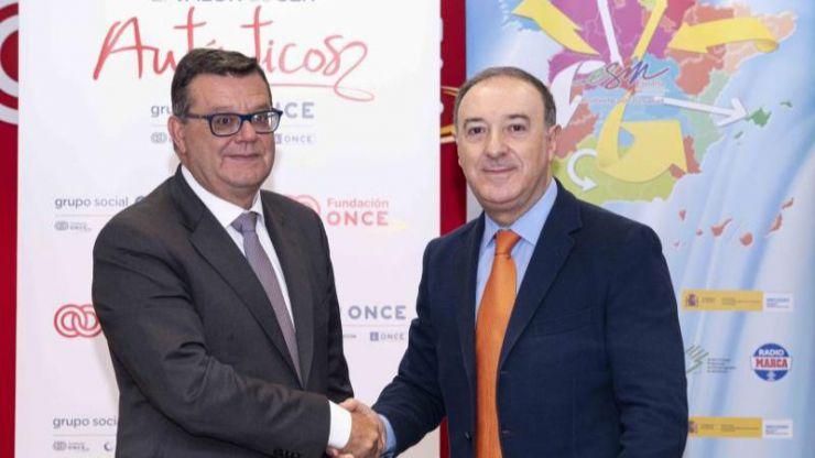 Fundación ONCE y 'España se Mueve' fomentarán la actividad deportiva entre las personas con discapacidad