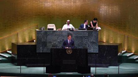 Pedro Sánchez anuncia ante Naciones Unidas la exhumación del dictador Francisco Franco