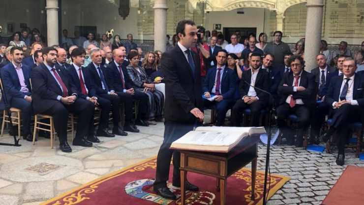 Alberto Encinar: 'La Ley de Urbanismo de Castilla y León deja prácticamente inutilizable el suelo rústico'