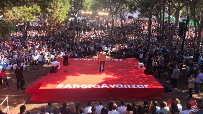 Pedro Sánchez: 'El 10-N no podemos quedarnos en casa, tenemos que salir a votar'