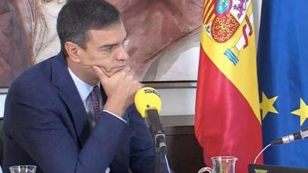 Sánchez endurece su mensaje contra el independentismo en el aniversario del 1-O