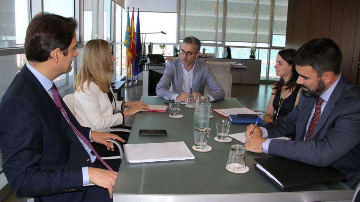 Arcadi España se reúne con la vicepresidenta del Banco Europeo de Inversiones