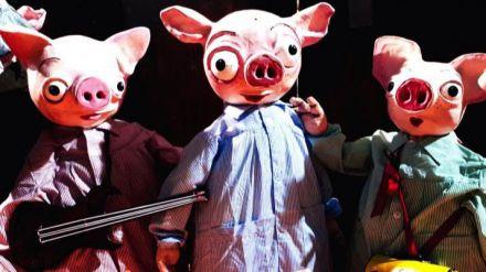 La V Mostra d'Arts Escèniques de Castelló arranca con el estreno nacional de 'Les tres porquetes'