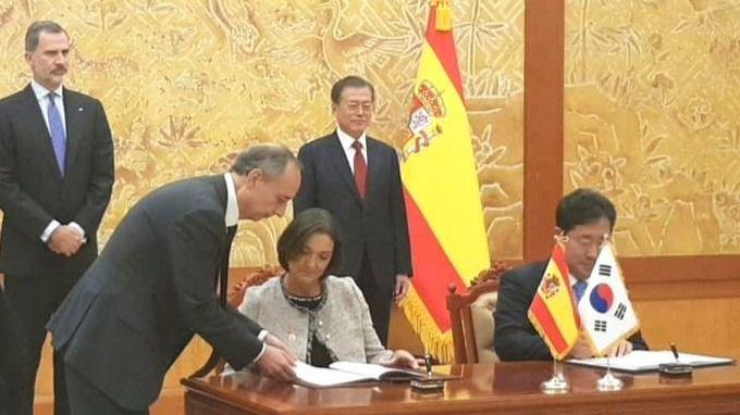España y Corea del Sur firman un acuerdo para reforzar la cooperación en materia de turismo