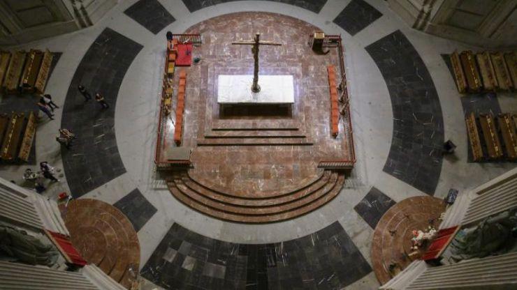 Así es el Valle de los Caídos sin la tumba de Franco