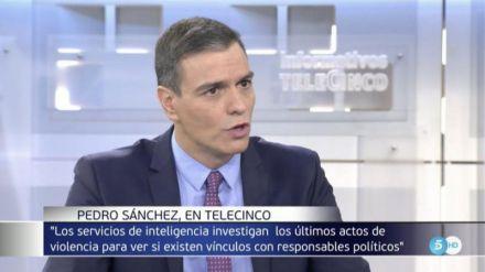 Sánchez: 'Las primeras víctimas del independentismo son los catalanes'