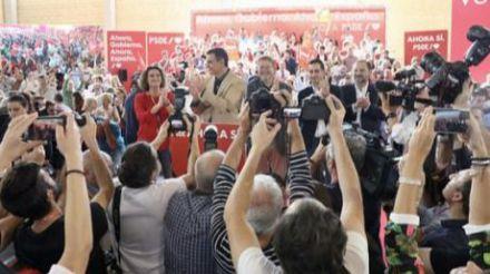 Sánchez: 'La única forma de romper el muro del bloqueo es votar el próximo 10-N'