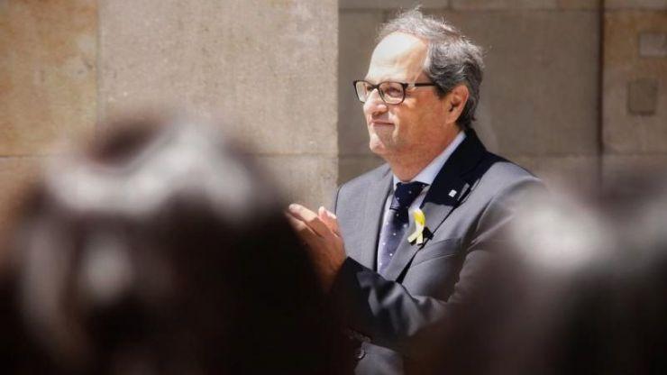 Torra insiste en su propuesta de una república catalana