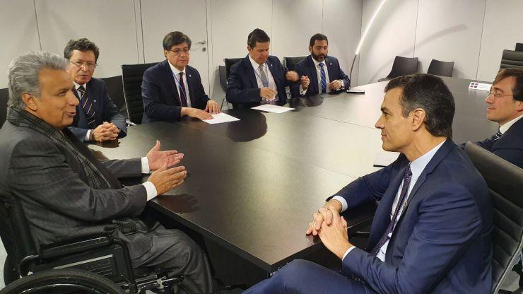 Sánchez: 'La batalla contra la emergencia climática requiere de coraje y determinación'