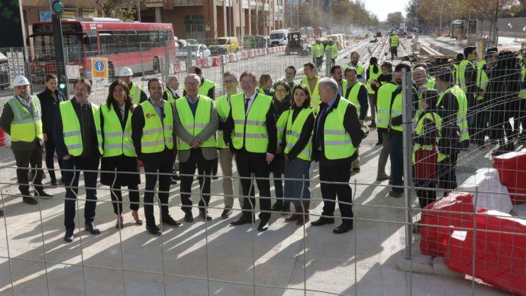 Ximo Puig anuncia el inicio de las obras del tramo subterráneo de la L10