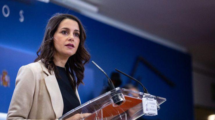 Arrimadas sobre la negociación del PSOE con ERC: