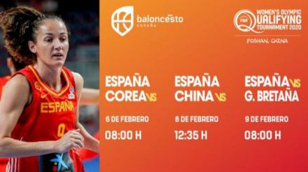 España ya conoce los horarios del Preolímpico de China
