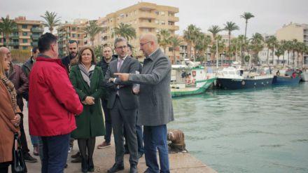 Arcadi España anuncia un estudio para mejorar la ordenación urbana del Puerto de Benicarló