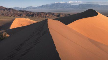 Cuando el Cañón del Colorado y los lagos alpinos parecen estar en el corazón de Asia Central