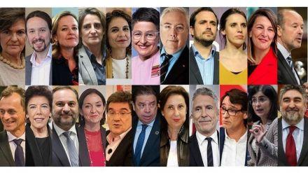Los 22 de Pedro Sánchez para su Gobierno de coalición