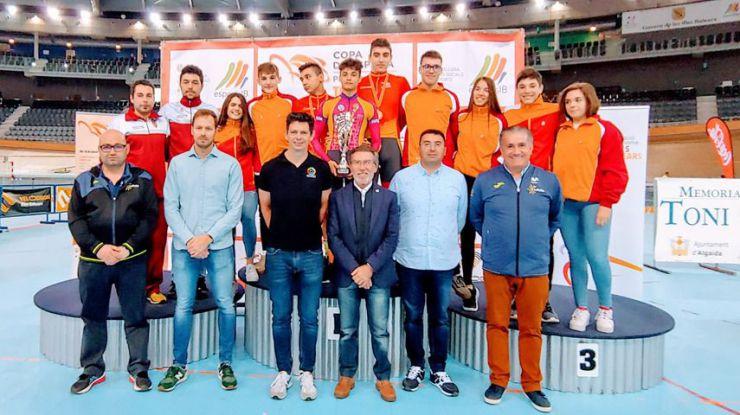 Castilla y León, vencedora de la 2ª prueba de la Copa de España de Pista 2020