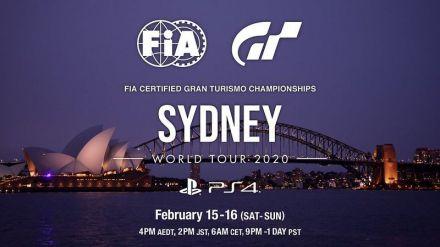 Los FIA de Gran Turismo Championships 2020 Series arrancan en Sidney