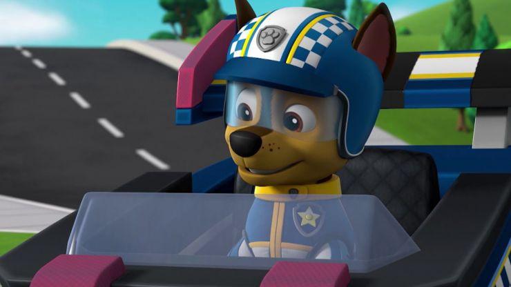 La Patrulla canina: Rescate a toda velocidad