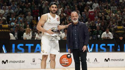 Facundo Campazzo, MVP Movistar de la Copa del Rey Málaga 2020