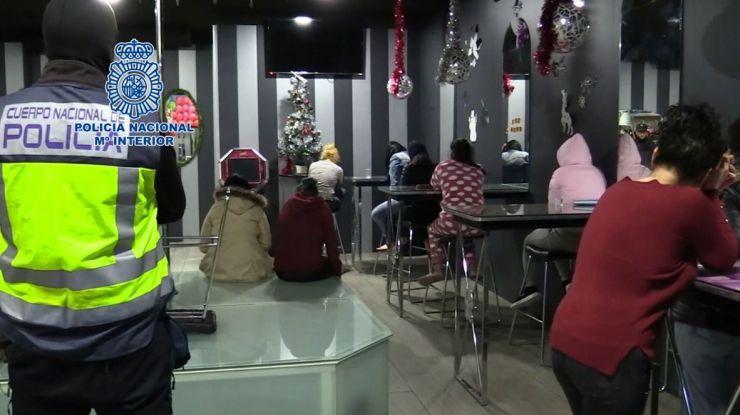 La Policía desarticula una red que habría explotado a más de 200 mujeres en Murcia