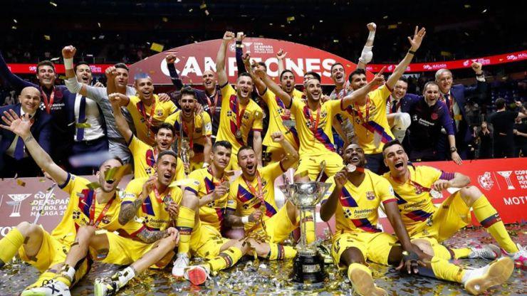 El Barça levanta su quinta Copa de España