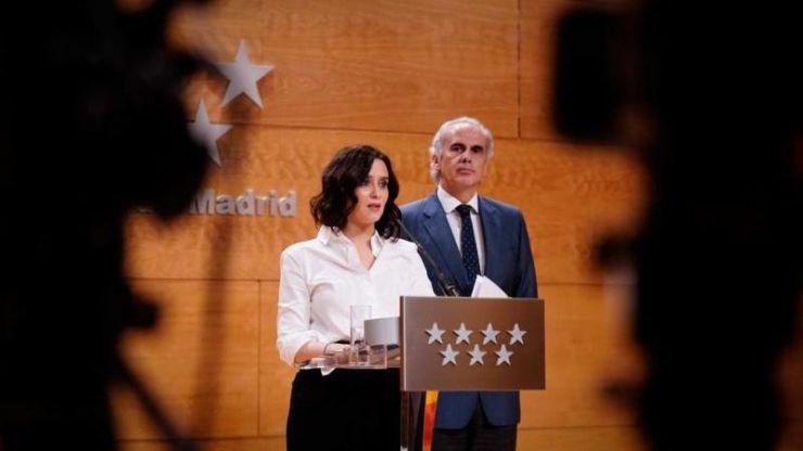 Madrid cierra todos los colegios, guarderías y universidades desde el miércoles