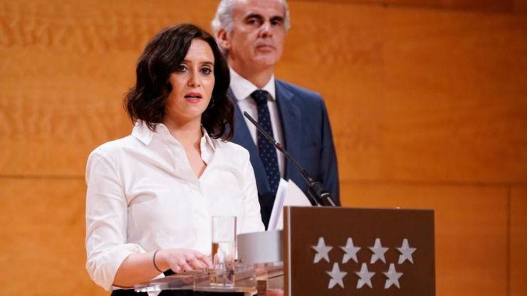 """Díaz Ayuso: """"Nuestra obligación es garantizar la vida y la seguridad de los ciudadanos"""