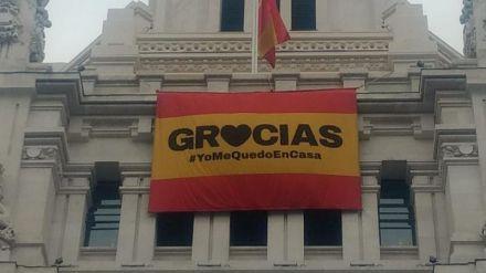 Madrid da las gracias a los ciudadanos por quedarse en casa