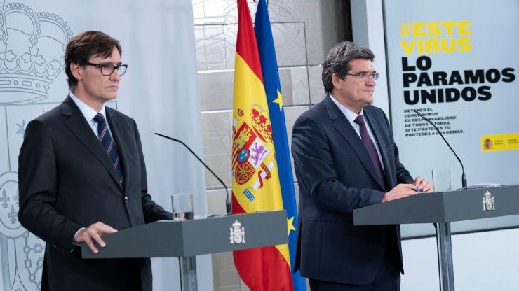 España compra a China material sanitario que le irá llegando paulatinamente hasta el mes de junio