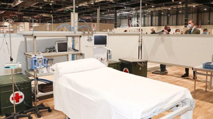 El Rey ensalza el Hospital de Ifema como 'símbolo de lo que somos capaces de hacer los españoles cuando estamos juntos'