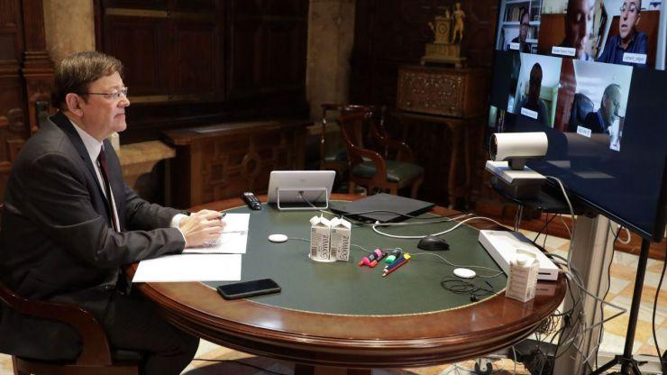 Ximo Puig anuncia ayudas directas e inmediatas para los autónomos de la Comunitat Valenciana
