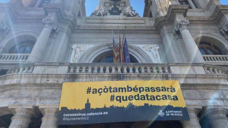 Valencia declara luto oficial por las víctimas del Covid-19