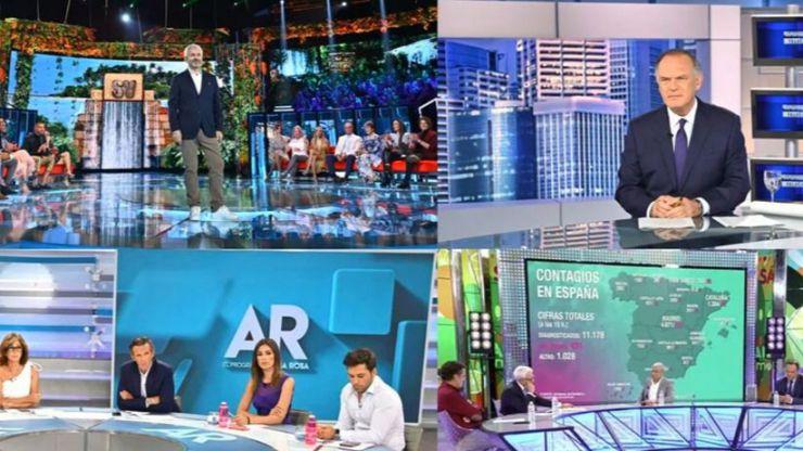 Un marzo atípico en cuanto a consumo televisivo con nombre propio: Telecinco