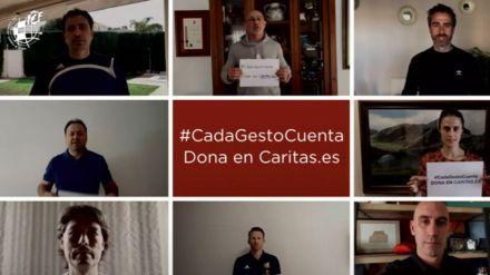 La RFEF apoya la campaña de Cáritas #CadaGestoCuenta