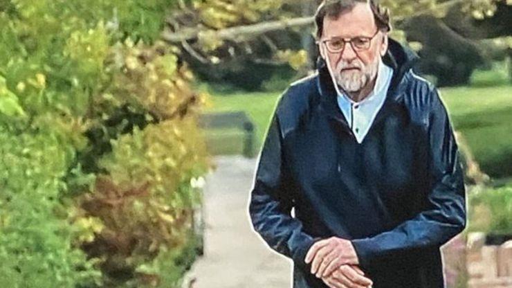 Rajoy se salta el confinamiento