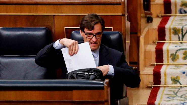 El Gobierno culpa a Cataluña por el desfase en los datos de la pandemia de este viernes