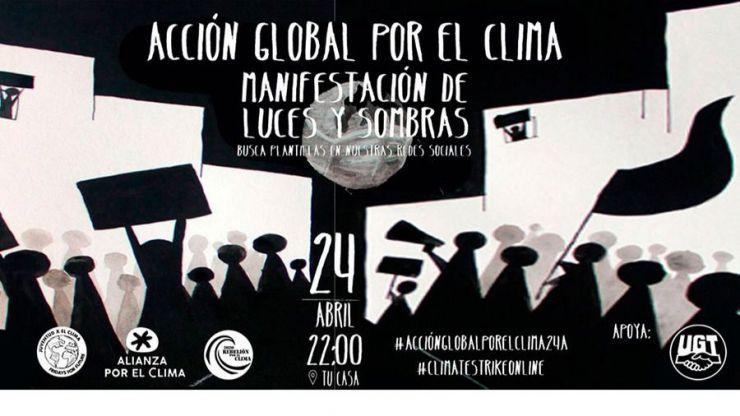Cientos de organizaciones sociales llaman a una acción global por el clima el próximo 24 de abril