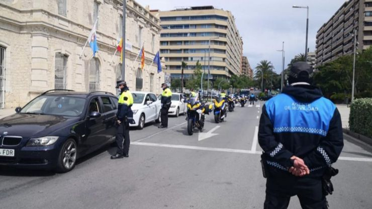 Alicante registra un repunte de sancionados con cerca de un centenar de multas en un día