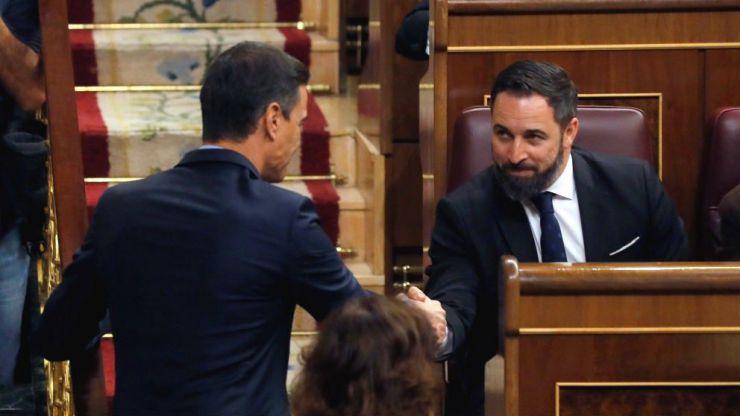 El PSOE reclama a Santiago Abascal una indemnización de 10.000 euros por injurias