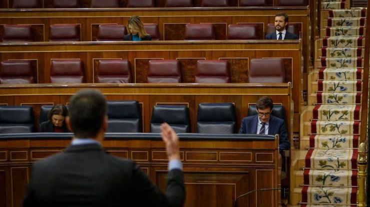 Sánchez al PP: 'Puede ser ideología, pero sobre todo es un anhelo de justicia social'