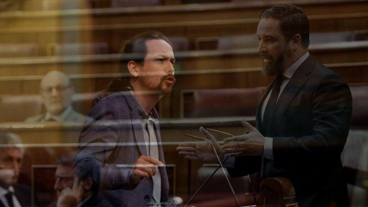 Pablo Iglesias a Vox: 'Ustedes no son ni siquiera fascistas, son parásitos'
