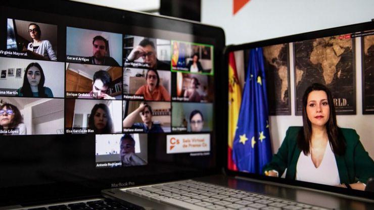 Arrimadas considera 'intolerable' que Sánchez 'amenace cada 15 días a 47 millones de españoles con el caos'