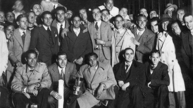 1935: subcampeones de Europa a la primera