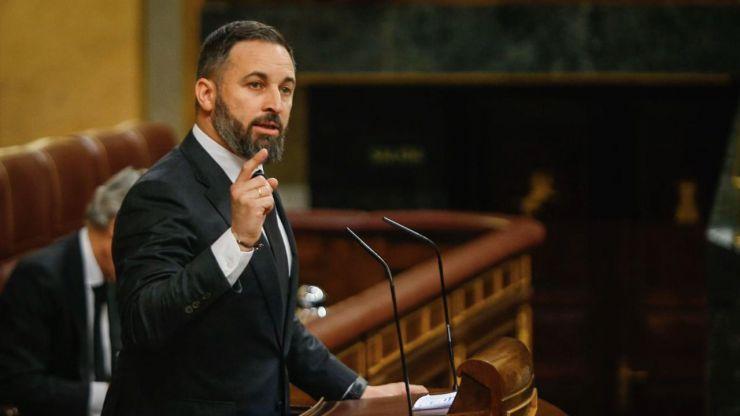 Santiago Abascal sorprende en el Congreso con un alegato a favor de la homosexualidad