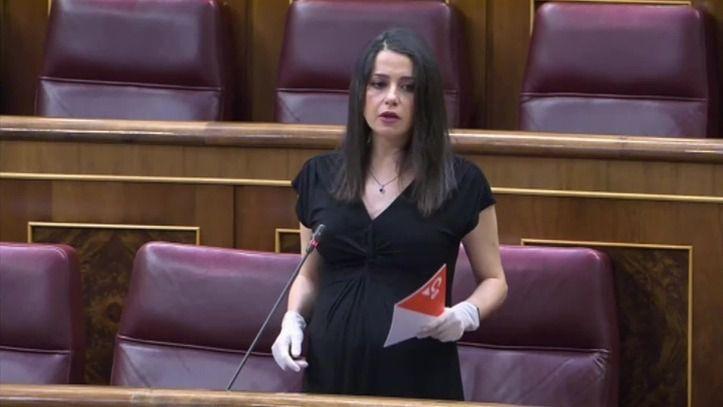 Inés Arrimadas pone en valor todas las medidas que ha arrancado al Gobierno a cambio de su apoyo